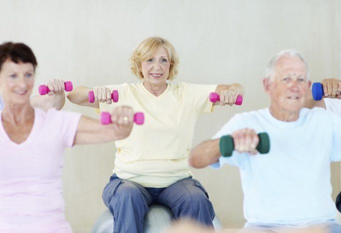 Rehabilitación para nuestros mayores.